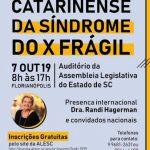 XI ENCONTRO CATARINENSE DA SINDROME DO X FRAGIL