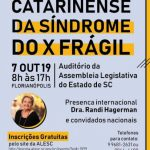 XI ENCONTRO CATARINENSE DA SINDROME DO X FRAGIL